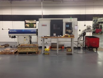 GPI purchases the Mori Seiki NL-2500 SY
