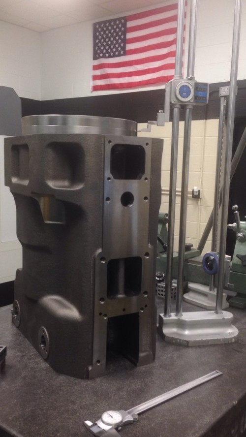 Large Machining Growth