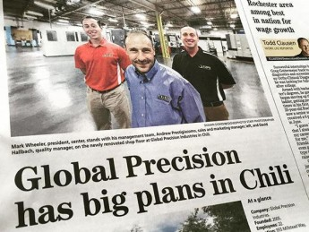 GPI Featured in the Democrat & Chronicle